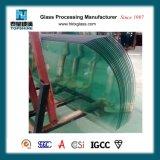 Vidro Curvo temperado para vidro de construção