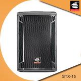 15 hölzerner Schrank-passiver Lautsprecher Stx-15 des Zoll-1600W