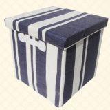 직물에 의하여 덮는 접을 수 있는 판지 상자 또는 접을 수 있는 마분지