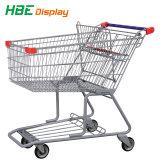 Het Winkelen van de supermarkt het Karretje van de Hand van de Kar van het Karretje