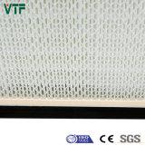 H13 H14 Minifilter des Leistungsfähigkeits-Metallrahmen-gefaltete Panel-HEPA