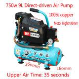 1HP Mini портативный вращающийся приводится в действие напрямую масла воздушного компрессора
