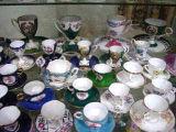 Keramik - Minischale u. Saucer