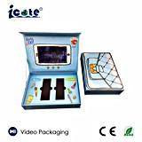 Heiß! ! Angepasst 4.3 '' 6 '' 7 '' /Business-videokasten LCD-des videogruß-Kastens/Geschenk-Kasten