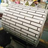 PPGI prépeint motif de briques en acier de couleur