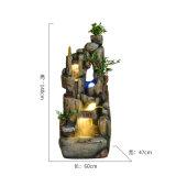 Jardim ornamental Home da fonte de água do jardim ornamental de Polyresin da decoração do jardim