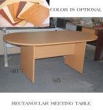 주문을 받아서 만들어진 사무용 가구 직사각형 서 있는 고도 사무실 테이블