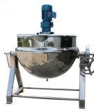 Bouilloire revêtue électrique sanitaire d'acier inoxydable de nourriture avec l'agitateur