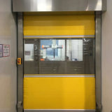 Puerta de alta velocidad del obturador del rodillo de puerta del balanceo de la tela industrial automática del PVC