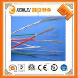 Isolamento de PVC resistentes ao calor de cobre de fio flexível blindado