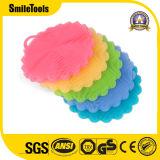 De silicones épurateur antibactérien d'essuie-main d'assiette de balai de vaisselle de bâton non