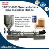 Youlian coller de servo de machine de remplissage semi-automatique pour le beurre de cacahuètes (S1WGD1000)