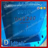 Клапан-бабочка вентиляции Dn2200 Didtek крупноразмерная с электрическим силовым приводом