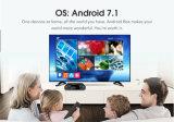 Contenitore superiore stabilito in pieno caricato di Android 7.1 astuti del contenitore di contenitore Tx3 mini S905W TV di Android TV con Kodi 17.5