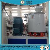 O PVC plástico com cor e CaCO3 mistura quente