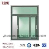 Hoogste Leverancier met de Dubbele Vensters van het Aluminium van het Glas van de Laag Glijdende