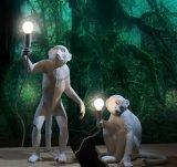 Lâmpada de tabela moderna do diodo emissor de luz para a iluminação Home da tabela do macaco da decoração