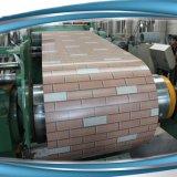 762mm и 914mm PPGI/PPGL/Pre покрасили гальванизированный стальной рифленый лист катушки/толя