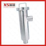 Dn80 SS304 en acier inoxydable de grade alimentaire sanitaire du lait de la crépine du filtre de type d'angle