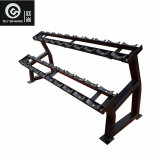 Rack de haltere 10 pares Sst070 Ginásio Fitness Equipment Comercial