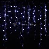 5mm cortina LED Mini música Icicle Luzes, 3m X 3m 300LEDs LED interior exterior branco quente Luzes de String para casamento festa, Home, decoração de sala de estar