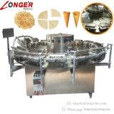 Pizzelle automatique faisant à biscuit la machine de cône de crême glacée à vendre