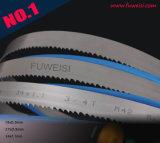 Hoogste Kwaliteit 10% Blad 34 X 1.1mm 3/4tpi van de Lintzaag van het Kobalt BimetaalVoor het Knipsel van de Staaf van het Staal