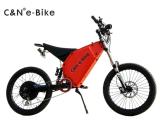 TFT 전시를 가진 성인을%s 72V 3000W 전기 자전거
