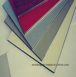 Painel de decoração colorida de revestimento de parede do prédio, materiais compósitos de alumínio