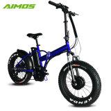 [شنغزهوو] [أيموس] دواسة مساندة إطار العجلة سمين درّاجة كهربائيّة مع دواسات