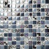 Vendita calda di vetro delle mattonelle di mosaico di Suqare di colore della miscela in Afraic