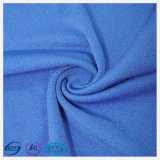 90%Polyester and 10%Spandex Blue Polyester Twill