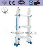 4*3 stappen Weinig Reuze/Ladder van het Aluminium