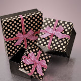 Коробка цветастого прелестно подарка картона брюк женщин упаковывая