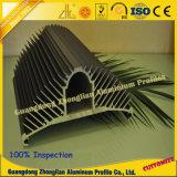 La fábrica de China hace que el OEM de aluminio del disipador de calor diseña