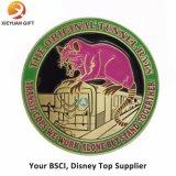 Maakt de Hoogste Leverancier van BSCI Disney tot Messing 3D Muntstuk van de Uitdaging