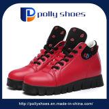 方法熱い販売の連続したスポーツによって増加される高い冬の女性の靴