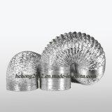 Ventilados dutos nua de alumínio flexível