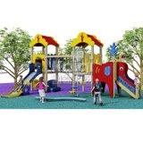 De nieuwste Houten die Speelplaats van het Effect van PE en WPC voor Pretpark wordt gemaakt