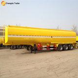de 3axle 50000L de réservoir de carburant remorque de camion de pétrolier de remorque semi