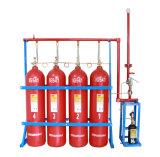 sistema de Suppresion del fuego del extintor de gas de 80L 90L Ig541 para el aeropuerto