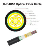 GYTA53 cinta de acero de fibra óptica del cable 4/6/8/12/24xn acorazada