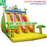 販売(DJWSMD8000015)のための最上質の安く膨脹可能な水スライド