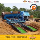 Trommel alluvial de machine d'or d'équipement minier de Gandong à vendre