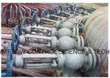 De Klep Dn200/Pn16 van de Isolatie van het Type van Bol van het Patroon van de Hoek van Wcb