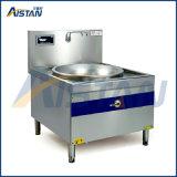 誘導の1つのバーナーが付いている大きいストーブの炊事道具を調理するXdc1000-001