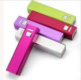 Batería cuadrada de la potencia del USB de la oxidación de la superficie de la caja de la aleación de aluminio