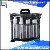 6 PCSペットプラスチック香水瓶の瓶の装飾的な包装セット