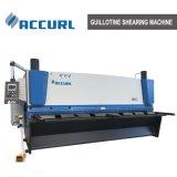 8x3200 Cisaillement guillotine hydraulique de la machine pour la plaque en acier