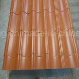 la larghezza di 665-1070mm ha preverniciato lo strato galvanizzato del tetto con il prezzo di fabbrica